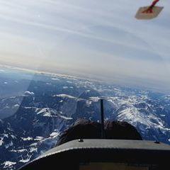 Flugwegposition um 12:56:02: Aufgenommen in der Nähe von Mürzsteg, Österreich in 3776 Meter