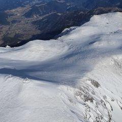 Flugwegposition um 14:43:48: Aufgenommen in der Nähe von Gemeinde Reichenau an der Rax, Österreich in 2549 Meter
