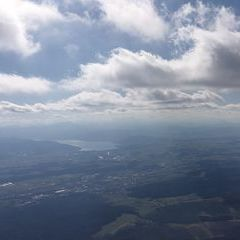 Flugwegposition um 12:57:24: Aufgenommen in der Nähe von Gemeinde Pitzenberg, 4690, Österreich in 1720 Meter