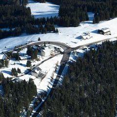 Flugwegposition um 14:11:25: Aufgenommen in der Nähe von Kleinlobming, Österreich in 1862 Meter