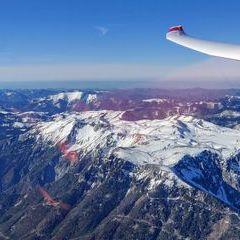 Flugwegposition um 14:31:32: Aufgenommen in der Nähe von Gemeinde Neuberg an der Mürz, 8692, Österreich in 2641 Meter
