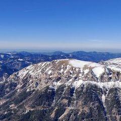 Flugwegposition um 14:18:55: Aufgenommen in der Nähe von Kapellen, Österreich in 2203 Meter