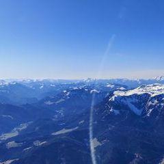Flugwegposition um 14:18:29: Aufgenommen in der Nähe von Kapellen, Österreich in 2224 Meter
