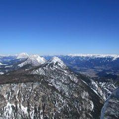 Flugwegposition um 14:58:38: Aufgenommen in der Nähe von Tragöß-Sankt Katharein, Österreich in 2043 Meter