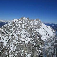 Flugwegposition um 15:01:24: Aufgenommen in der Nähe von Tragöß-Sankt Katharein, Österreich in 1960 Meter