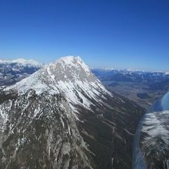 Flugwegposition um 15:05:26: Aufgenommen in der Nähe von St. Ilgen, 8621 St. Ilgen, Österreich in 2014 Meter