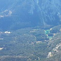 Flugwegposition um 12:22:56: Aufgenommen in der Nähe von Tragöß-Sankt Katharein, Österreich in 1961 Meter