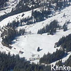 Flugwegposition um 12:55:29: Aufgenommen in der Nähe von Gaishorn am See, Österreich in 1864 Meter