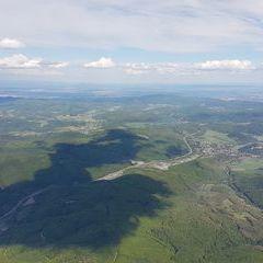 Flugwegposition um 14:12:36: Aufgenommen in der Nähe von Gemeinde Klausen-Leopoldsdorf, Österreich in 1662 Meter