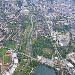 Verortung via Georeferenzierung der Kamera: Aufgenommen in der Nähe von St. Pölten, Österreich in 0 Meter