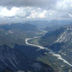 Flugwegposition um 11:29:34: Aufgenommen in der Nähe von Gemeinde Vorderhornback, Vorderhornbach, Österreich in 2749 Meter