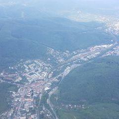 Flugwegposition um 12:03:18: Aufgenommen in der Nähe von Gemeinde Purkersdorf, Purkersdorf, Österreich in 1144 Meter