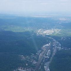 Flugwegposition um 12:03:42: Aufgenommen in der Nähe von Gemeinde Purkersdorf, Purkersdorf, Österreich in 1136 Meter