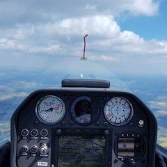 Flugwegposition um 12:35:30: Aufgenommen in der Nähe von Tirschenreuth, Deutschland in 1825 Meter