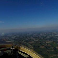 Flugwegposition um 16:17:14: Aufgenommen in der Nähe von Gemeinde Pettenbach, 4643, Österreich in 1308 Meter