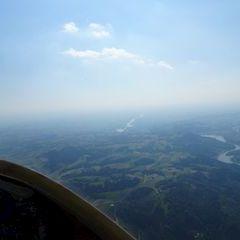 Flugwegposition um 13:56:08: Aufgenommen in der Nähe von Gemeinde Nöchling, Nöchling, Österreich in 1379 Meter