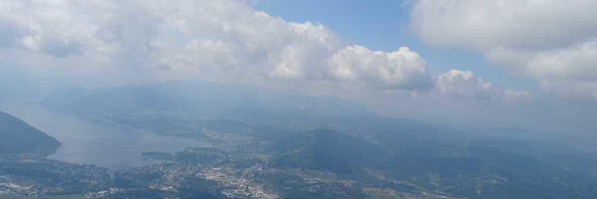 Flugwegposition um 09:25:56: Aufgenommen in der Nähe von Gemeinde Ohlsdorf, Ohlsdorf, Österreich in 1525 Meter