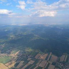Flugwegposition um 15:17:51: Aufgenommen in der Nähe von Gemeinde Sieghartskirchen, Österreich in 1634 Meter