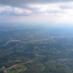 Flugwegposition um 15:25:58: Aufgenommen in der Nähe von Gemeinde Gablitz, Österreich in 1840 Meter