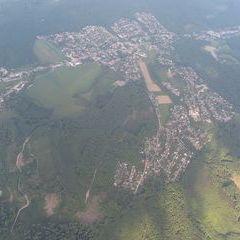 Flugwegposition um 15:26:34: Aufgenommen in der Nähe von Gemeinde Gablitz, Österreich in 1853 Meter