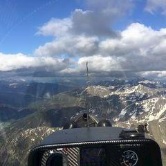 Flugwegposition um 16:24:58: Aufgenommen in der Nähe von Gemeinde Obertilliach, 9942 Obertilliach, Österreich in 2796 Meter