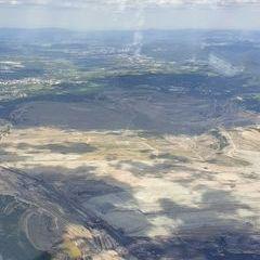 Flugwegposition um 12:28:11: Aufgenommen in der Nähe von Okres Sokolov, Tschechien in 1601 Meter