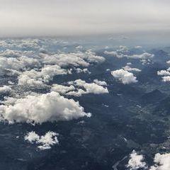 Flugwegposition um 13:39:00: Aufgenommen in der Nähe von Donnersbach, Österreich in 6027 Meter