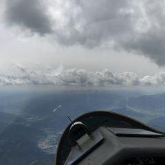 Flugwegposition um 13:25:01: Aufgenommen in der Nähe von Gemeinde Oberaich, 8600 Oberaich, Österreich in 2539 Meter