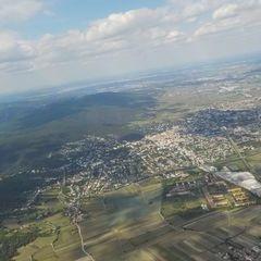 Flugwegposition um 12:56:43: Aufgenommen in der Nähe von Gemeinde Muggendorf, 2763, Österreich in 1634 Meter