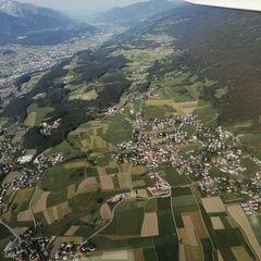 Flugwegposition um 16:06:00: Aufgenommen in der Nähe von Gemeinde Lans, Lans, Österreich in 1699 Meter