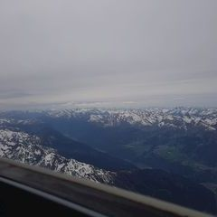 Verortung via Georeferenzierung der Kamera: Aufgenommen in der Nähe von Gemeinde Kaunderberg, Österreich in 4000 Meter