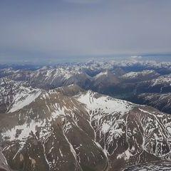 Verortung via Georeferenzierung der Kamera: Aufgenommen in der Nähe von Maloja, Schweiz in 3700 Meter