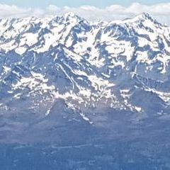 Verortung via Georeferenzierung der Kamera: Aufgenommen in der Nähe von Gemeinde Irschen, Österreich in 3400 Meter