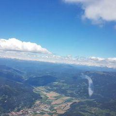 Flugwegposition um 10:31:30: Aufgenommen in der Nähe von Gemeinde Guttaring, Österreich in 2285 Meter