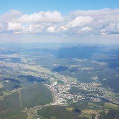 Verortung via Georeferenzierung der Kamera: Aufgenommen in der Nähe von Gemeinde Payerbach, Österreich in 2200 Meter