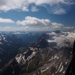 Flugwegposition um 13:29:00: Aufgenommen in der Nähe von Gemeinde Leutasch, Österreich in 2962 Meter