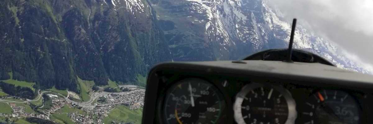Flugwegposition um 12:28:12: Aufgenommen in der Nähe von Gemeinde Kaisers, Österreich in 3459 Meter