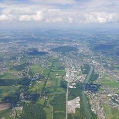 Verortung via Georeferenzierung der Kamera: Aufgenommen in der Nähe von Gemeinde Anif, Österreich in 1800 Meter