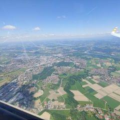 Verortung via Georeferenzierung der Kamera: Aufgenommen in der Nähe von Oberbayern, Deutschland in 1600 Meter