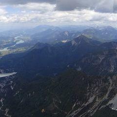 Flugwegposition um 10:12:49: Aufgenommen in der Nähe von Gemeinde Feistritz im Rosental, Feistritz im Rosental, Österreich in 2050 Meter