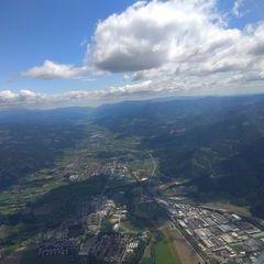 Verortung via Georeferenzierung der Kamera: Aufgenommen in der Nähe von Kapfenberg, Österreich in 2000 Meter