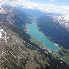 Flugwegposition um 12:21:27: Aufgenommen in der Nähe von Maloja, Schweiz in 3307 Meter