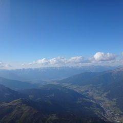 Flugwegposition um 16:45:31: Aufgenommen in der Nähe von Innsbruck, Österreich in 589 Meter