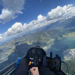 Verortung via Georeferenzierung der Kamera: Aufgenommen in der Nähe von Gemeinde Zell am See, 5700 Zell am See, Österreich in 2500 Meter
