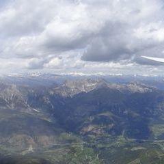 Flugwegposition um 11:06:29: Aufgenommen in der Nähe von 33018 Tarvis, Udine, Italien in 2528 Meter