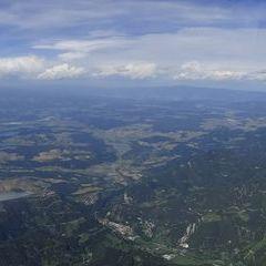 Flugwegposition um 12:37:47: Aufgenommen in der Nähe von 33010 Malborghetto Valbruna, Udine, Italien in 2621 Meter