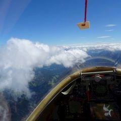 Flugwegposition um 10:35:56: Aufgenommen in der Nähe von Gemeinde Rosenau am Hengstpaß, Österreich in 2897 Meter