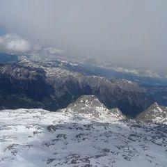 Flugwegposition um 12:09:57: Aufgenommen in der Nähe von Gemeinde Werfen, Österreich in 3134 Meter