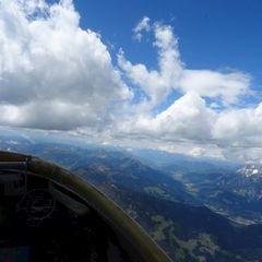 Verortung via Georeferenzierung der Kamera: Aufgenommen in der Nähe von Gemeinde Saalfelden am Steinernen Meer, 5760 Saalfelden am Steinernen Meer, Österreich in 3100 Meter