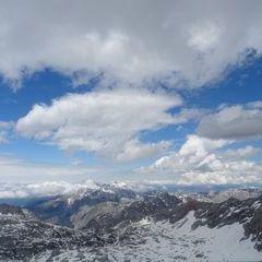Flugwegposition um 12:55:54: Aufgenommen in der Nähe von Gemeinde Maria Alm am Steinernen Meer, 5761, Österreich in 2663 Meter